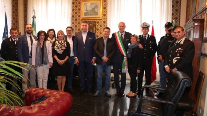 02 Delegazione Albania Lezhe Alassio
