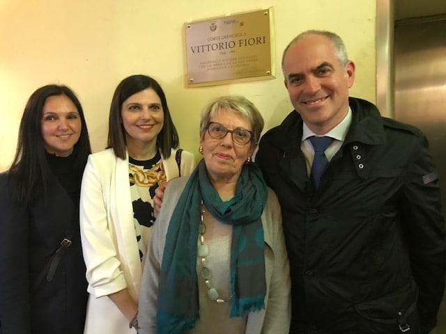 03 Intitolazione Corte di Palazzo Oddo a Vittorio Fiori Albenga 2019