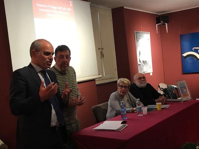 06 Intitolazione Corte di Palazzo Oddo a Vittorio Fiori Albenga 2019