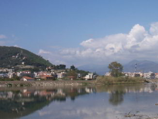 Albenga paesaggio e fiume Centa