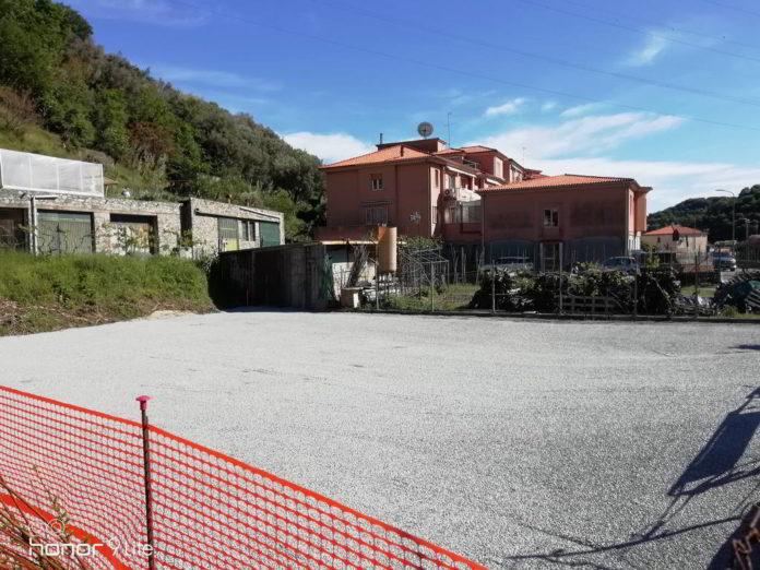 Albisola Superiore foto parcheggio via Boraxe