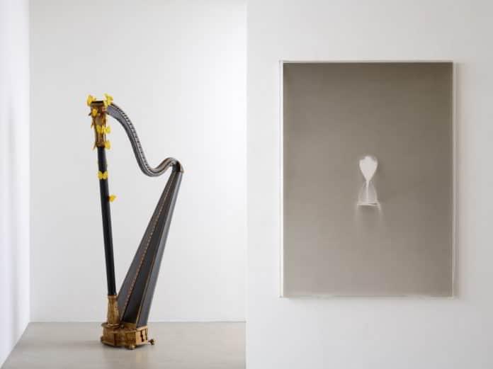 Due opere di Claudio Parmiggiani