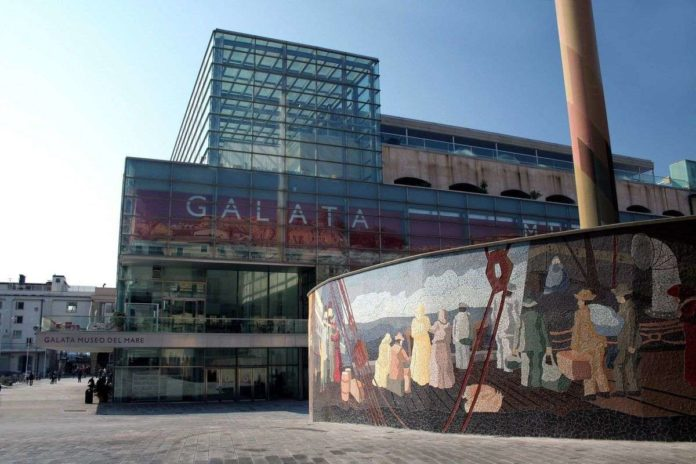 Galata Museo del Mare Murale Migrazioni Munu Actis