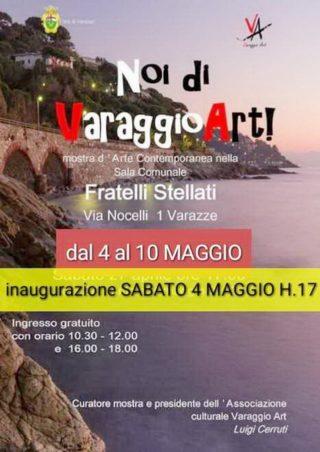 Noi di Varaggio Art Mostra a Varazze.4.05.2019