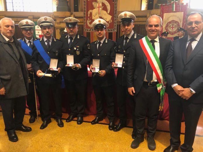Onorificenze Polizia locale Albenga