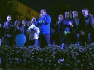 Salvini comizio Albenga