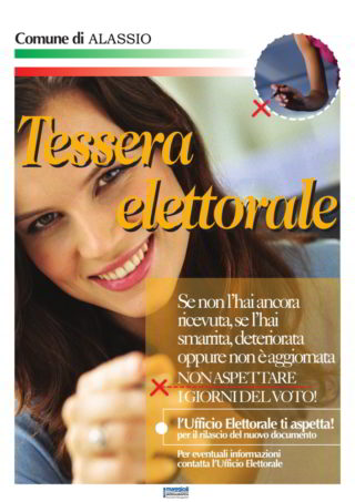 TESSERA ELETTORALE Alassio