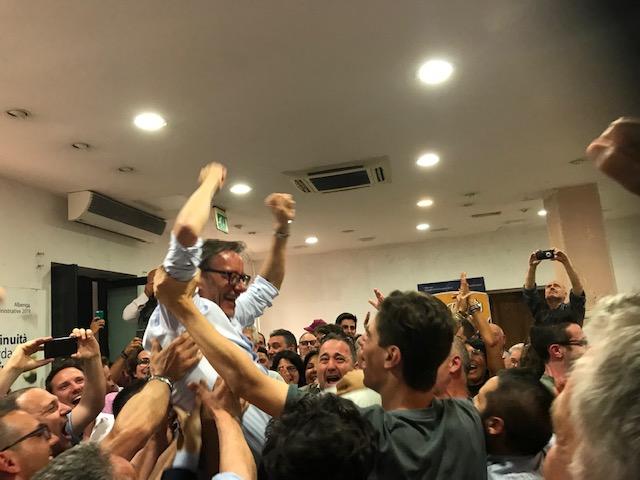 01 Amministrative Albenga 2019 vittoria Sindaco Riccardo Tomatis 1