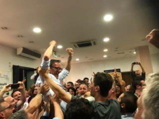 01 Amministrative Albenga 2019 vittoria Sindaco Riccardo Tomatis