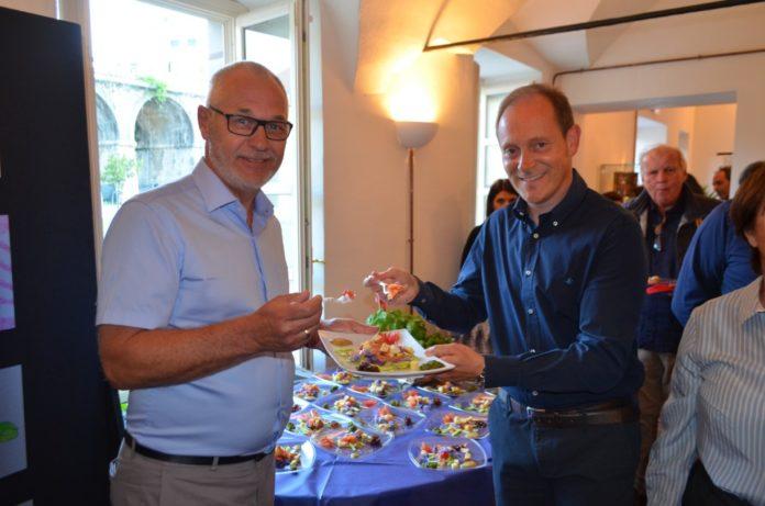01 Landora piatto del gemellaggio tra Andora e Larvik