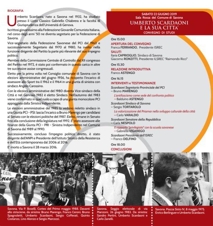 ISREC Convegno Scardaoni SV Programma