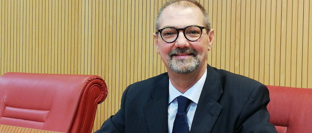 Mauro Righello in Consiglio Regione Liguria