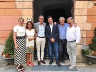 Nuova Giunta sindaco Riccardo Tomatis Albenga 2019