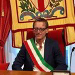 Riccado Tomatis fascia tricolore sindaco Albenga