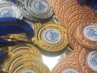 medaglie fisdir 2019