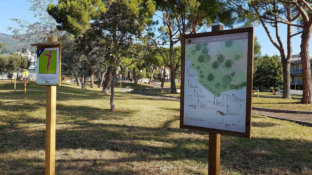 01 Vivere il parco a Loano
