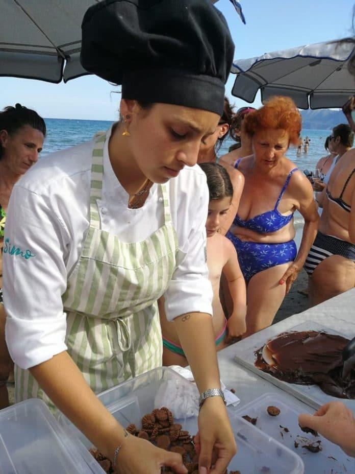 09 Scuola di cucina sotto l'ombrellone Alassio