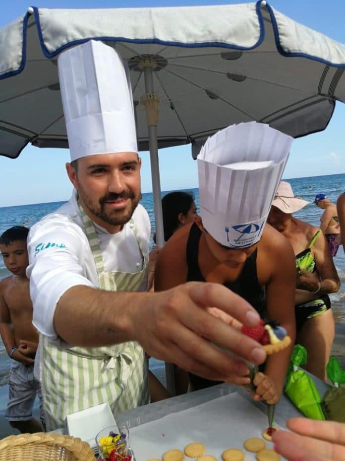 10 Scuola di cucina sotto l'ombrellone Alassio