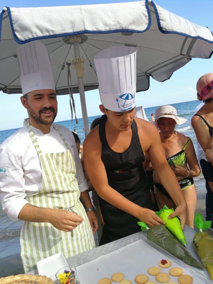 14 Scuola di cucina sotto l'ombrellone Alassio