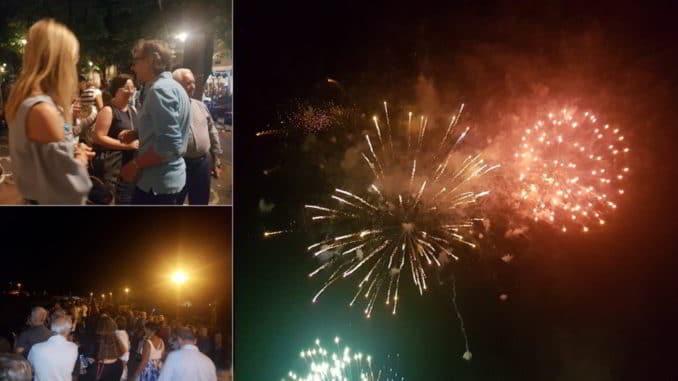 Fuochi 2 luglio Albenga 2019
