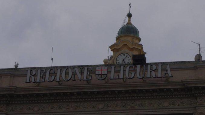 Il Palazzo di Regione Liguria in Piazza De Ferrari a Genova