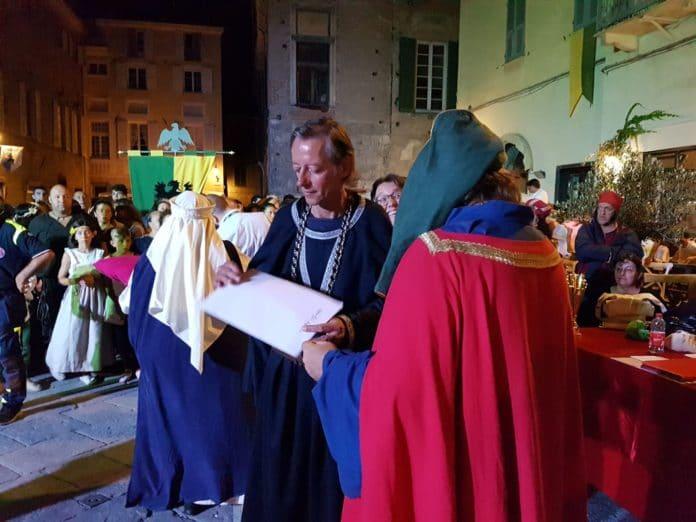 Palio storico di Albenga serata conclusiva 1