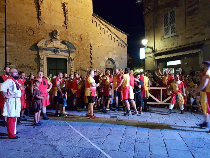Palio storico di Albenga serata conclusiva 12