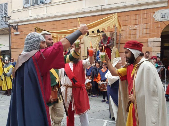 Palio storico di Albenga serata conclusiva 13