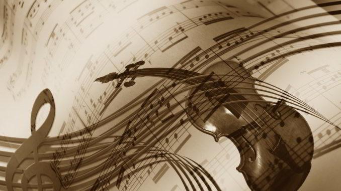 Spartito musicale creativo