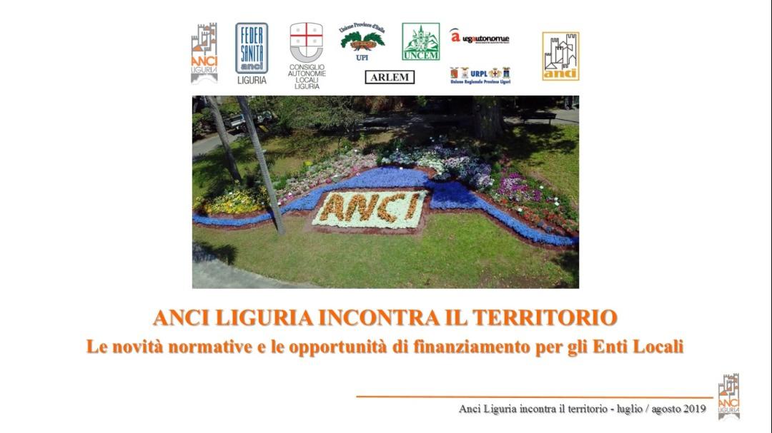 00 Anci Liguria Tour – ANCI Liguria incontra il territorio