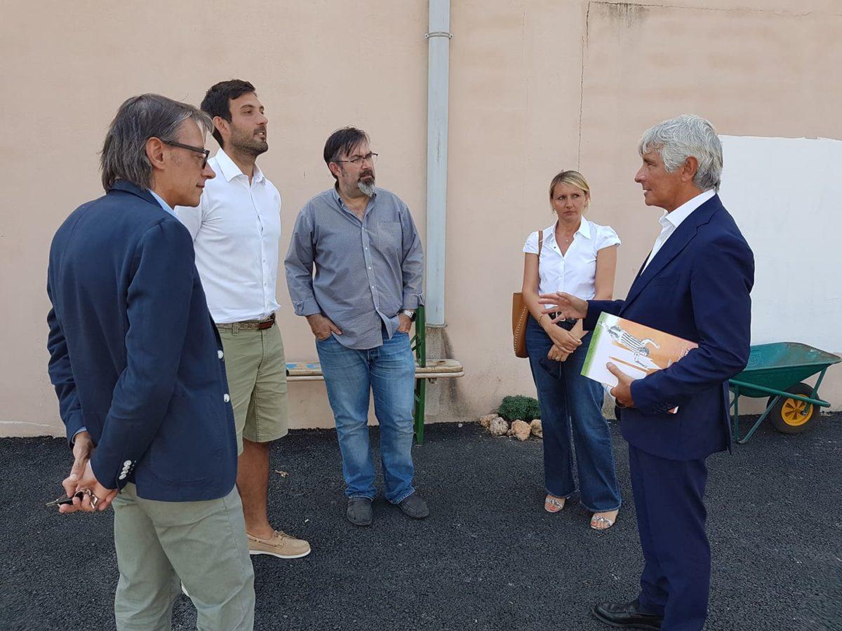 01 Albenga soprallugo presidente del Credito sportivo Andrea Abodi