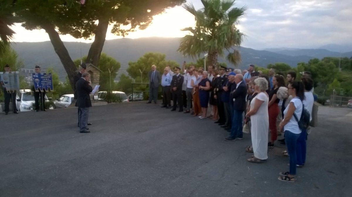 01 Andora cerimonia per ricordare Fausto Trevisani foto Daros