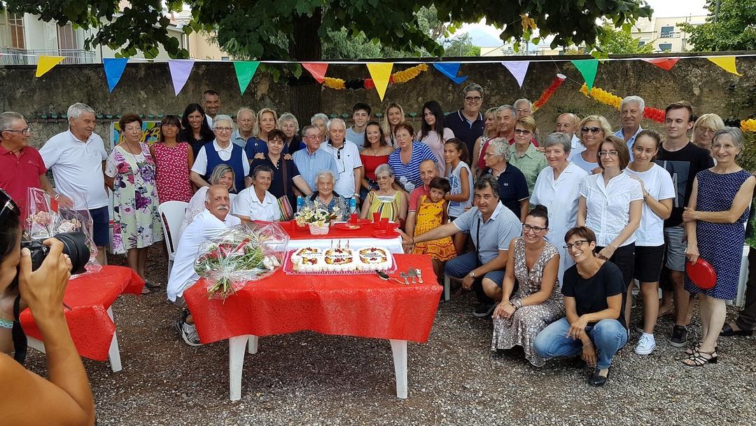 01 Compleanno Anna Mel a Loano compie 100 anni