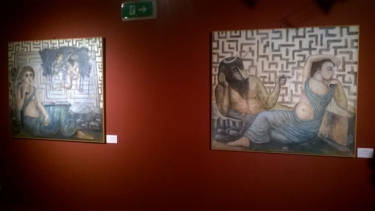 01 Elio De Lucoa opere mostra ad Albenga