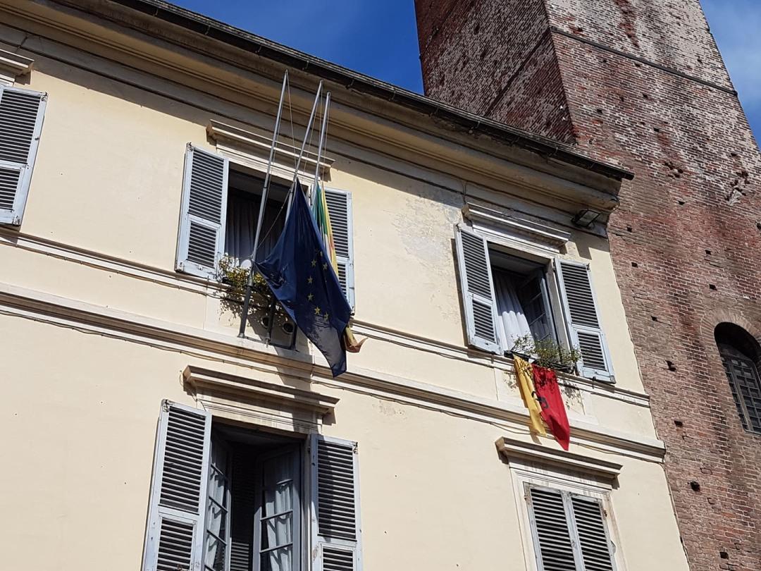 03 Commemorazione vittime crollo Ponte Morandi ad Albenga flash mob 3