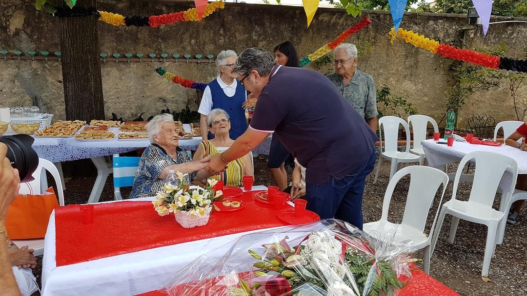 03 Compleanno Anna Mel a Loano compie 100 anni