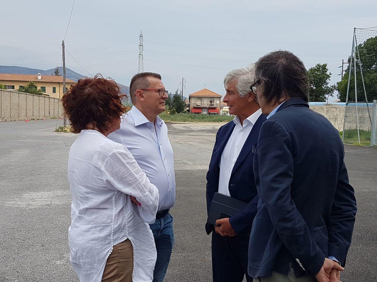 04 Albenga soprallugo presidente del Credito sportivo Andrea Abodi