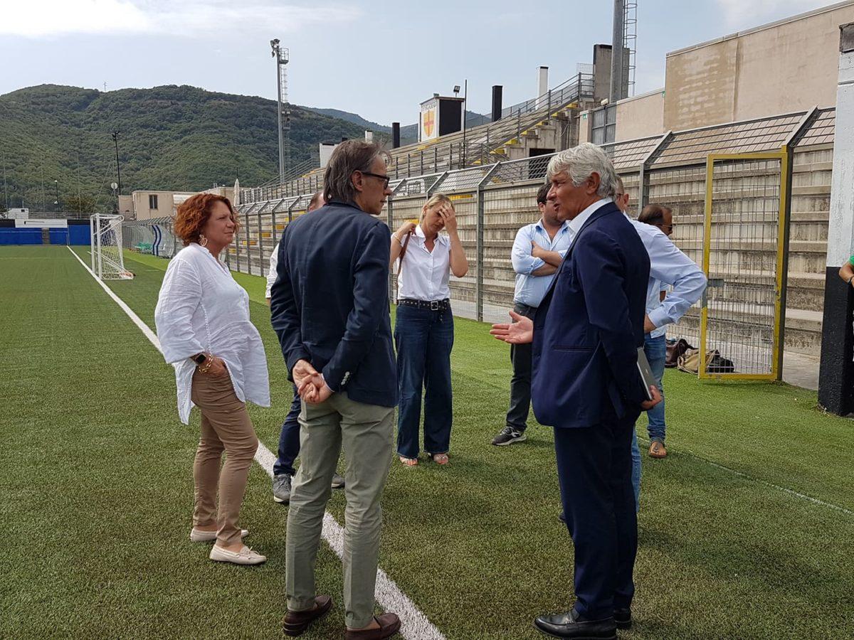 05 Albenga soprallugo presidente del Credito sportivo Andrea Abodi