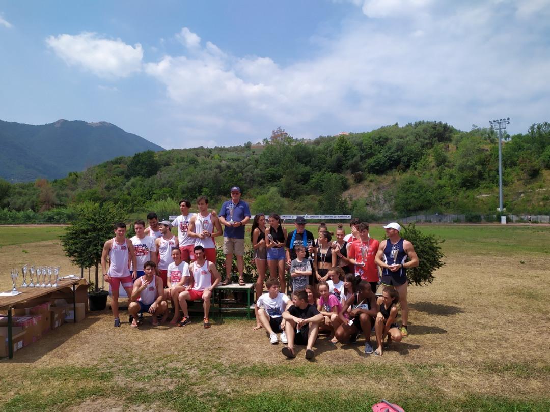 05 Campuionati Italiani Libertas Podio Assoluti Team