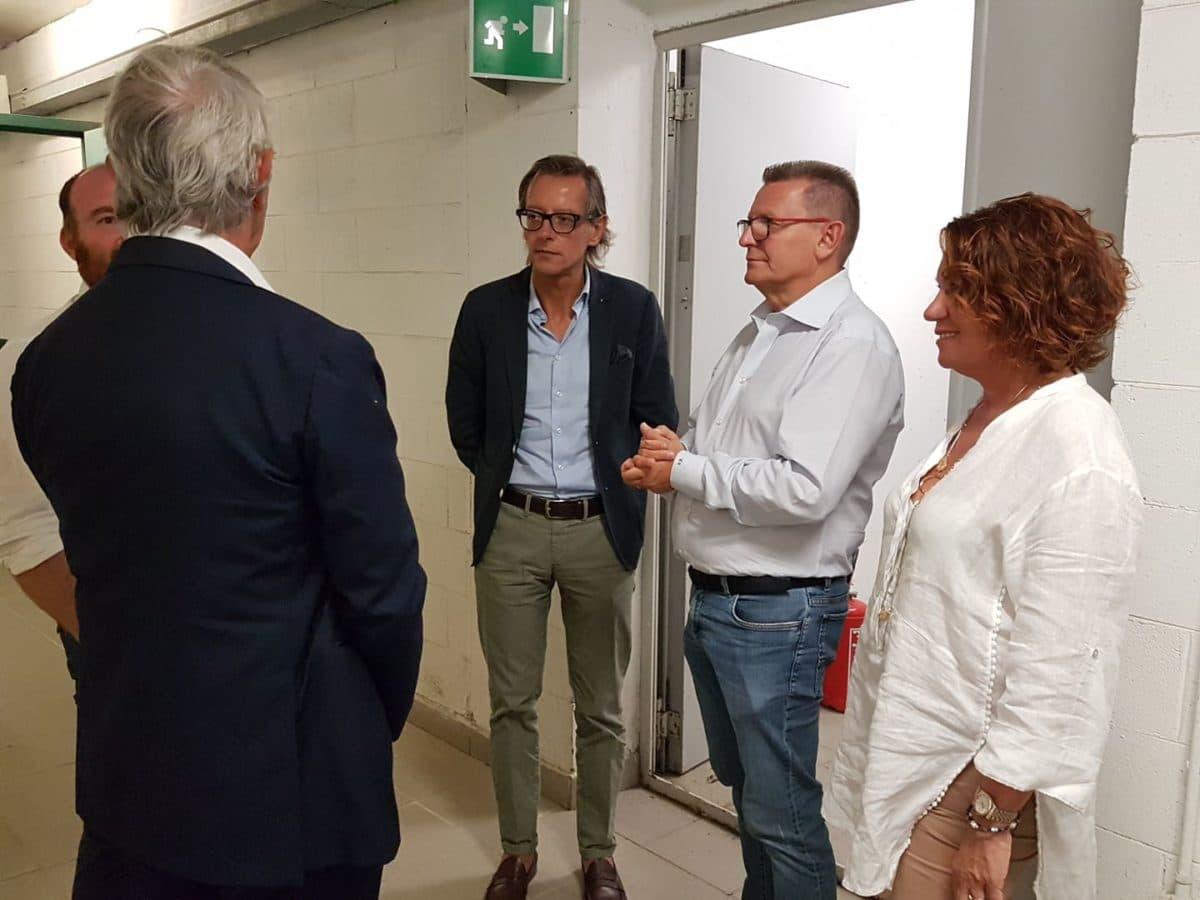 07 Albenga soprallugo presidente del Credito sportivo Andrea Abodi