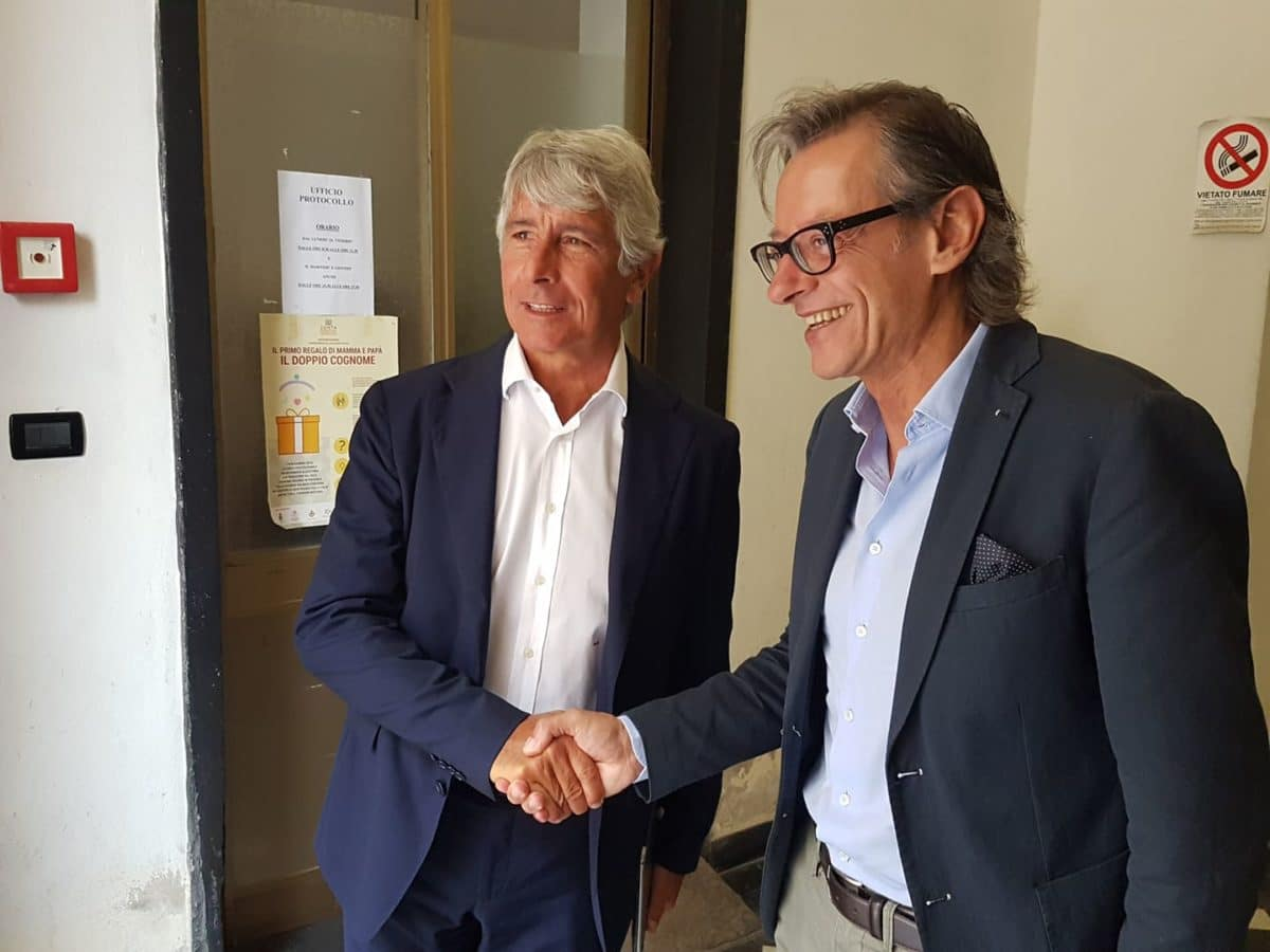 08 Albenga soprallugo presidente del Credito sportivo Andrea Abodi