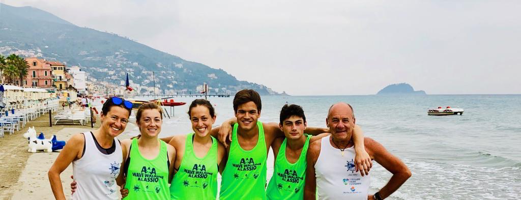 Alassio Wave Walking e Rinaldo Agostini