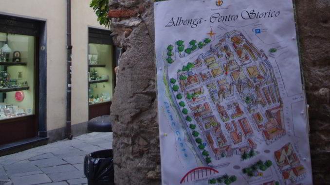 Albenga centro storico