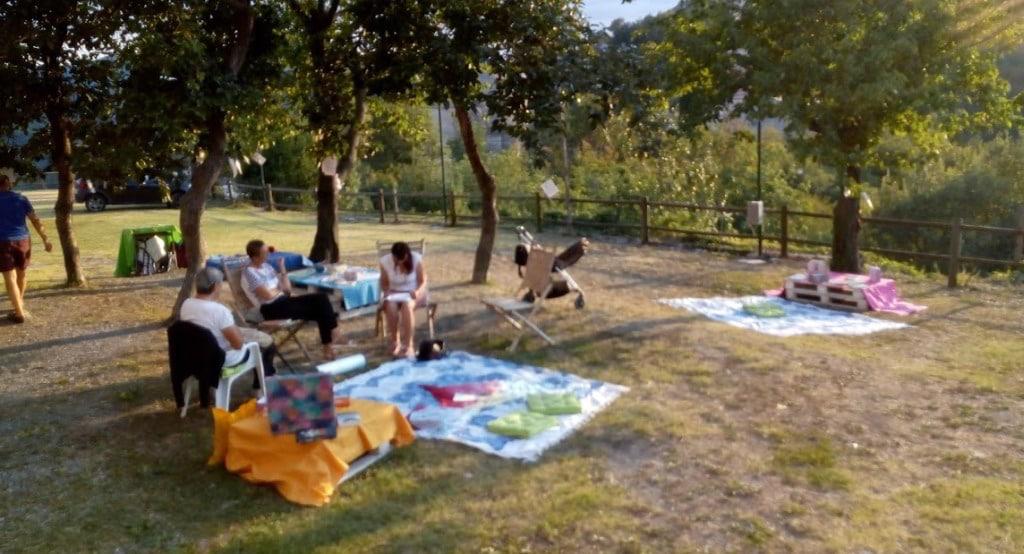 Associazione cosavuoichetilegga a Marmoreo Arte in campagna