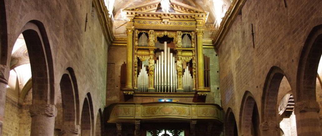 Grand Organo Serassi in Cattedrale San Michele ad Albenga - effe