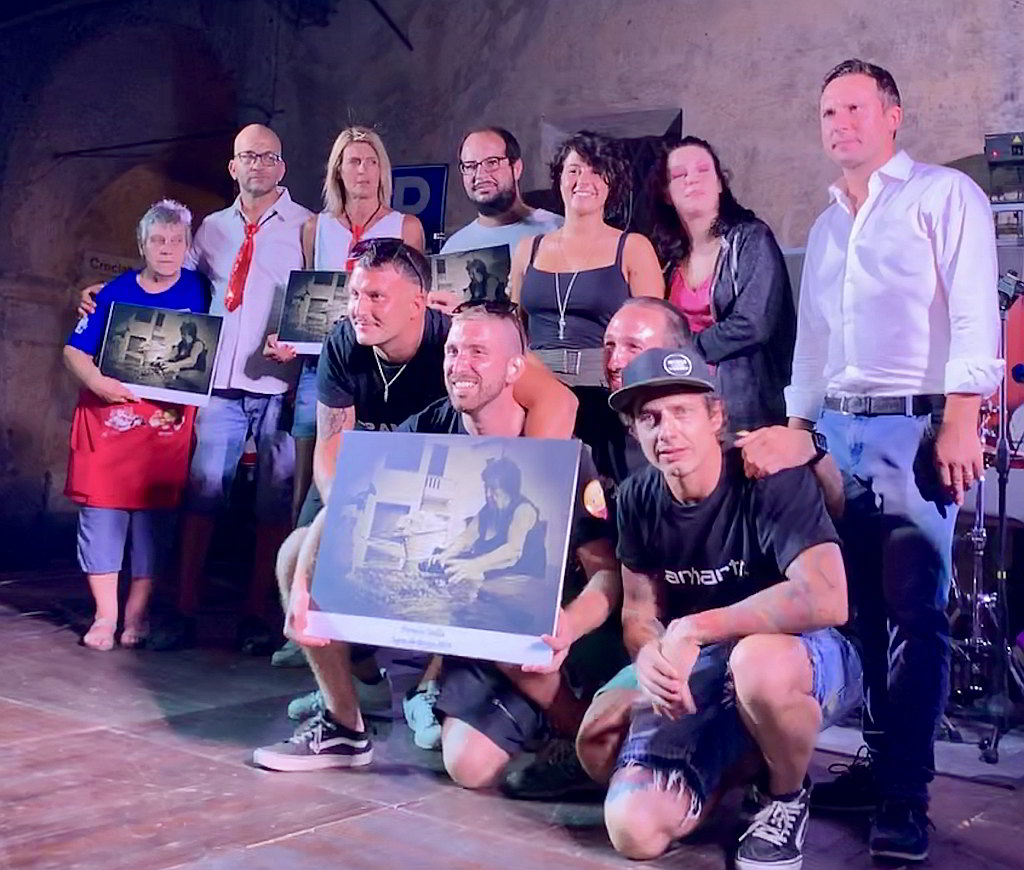 I Spantegai vincitori Sagra du Burgu di Bastia di Albenga 2019