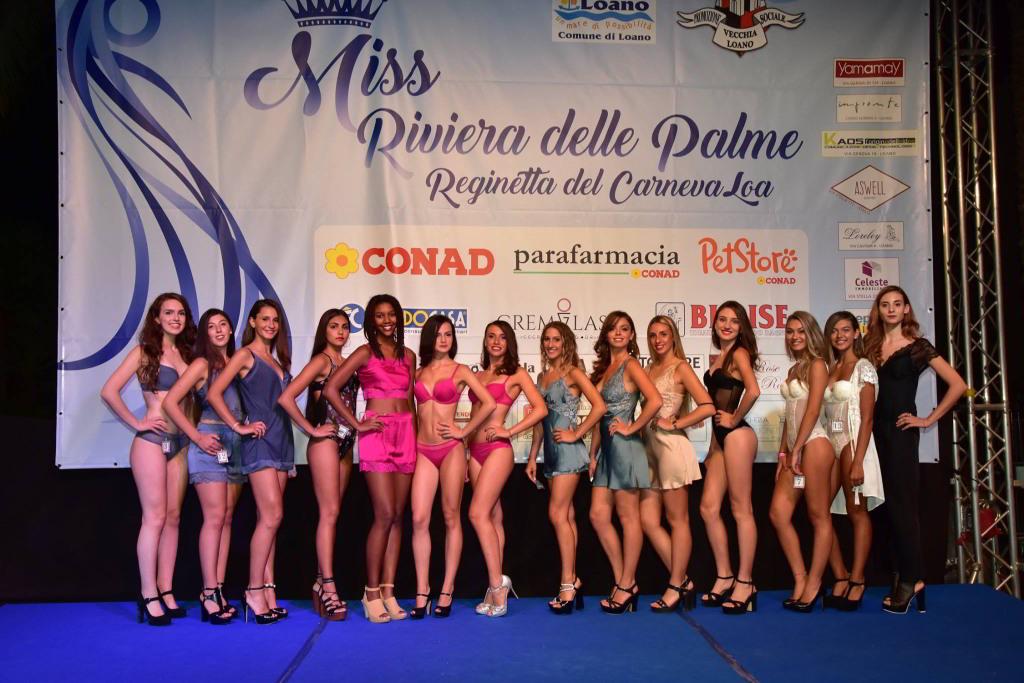 Miss Riviera Palme 2018