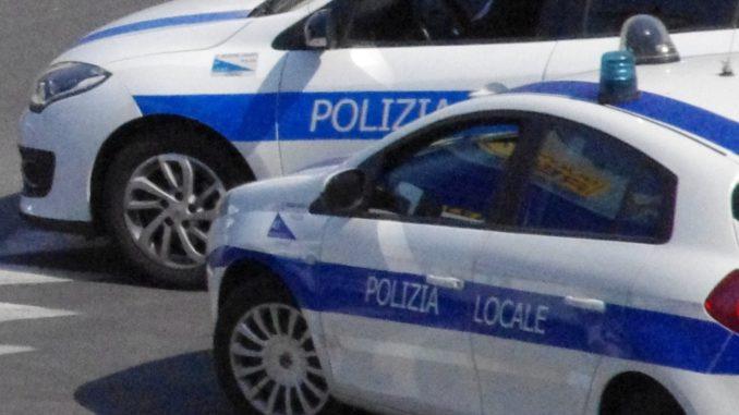 Auto Polizia Locale di Albenga