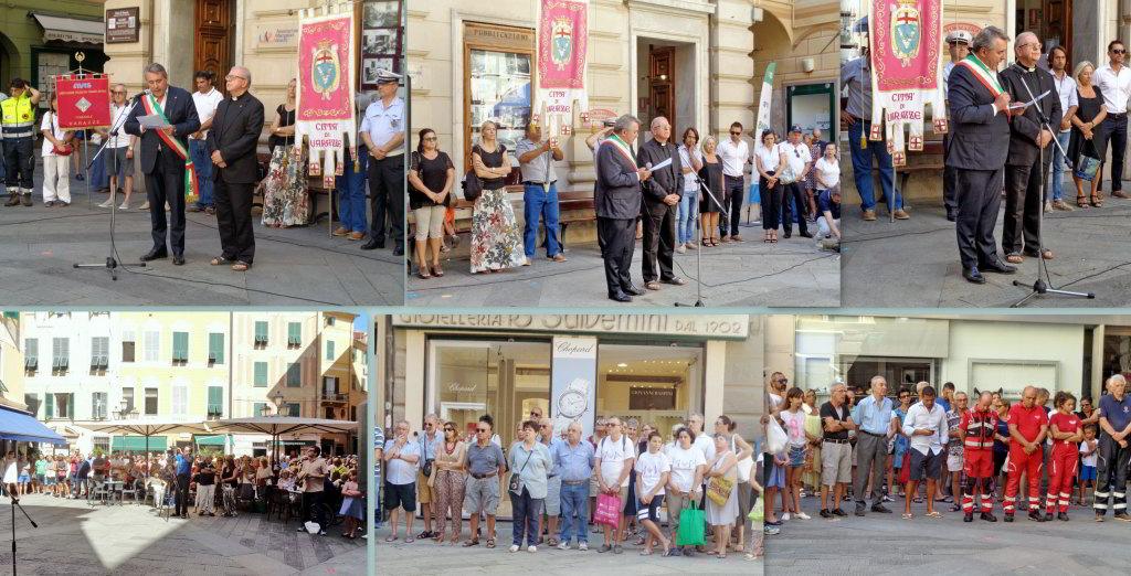 Varazze 14 08 2019 Commemorazione vittime Ponte Morandi