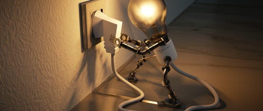 lampadina presa